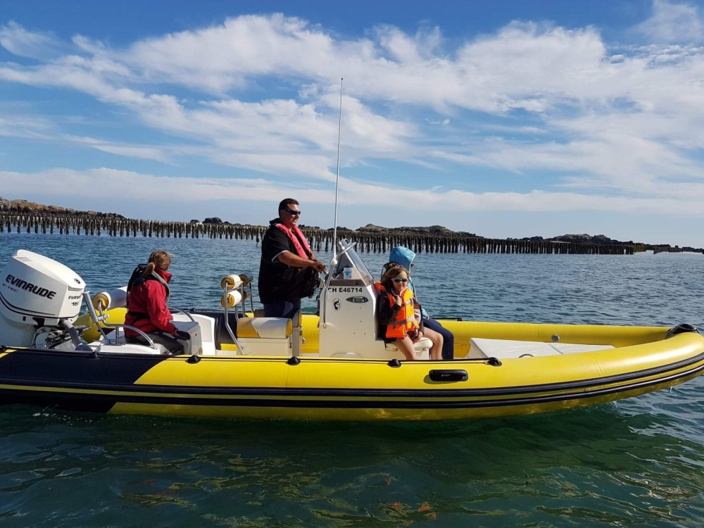 Rental RIB in Cherbourg-en-Cotentin - Hydrosport 646