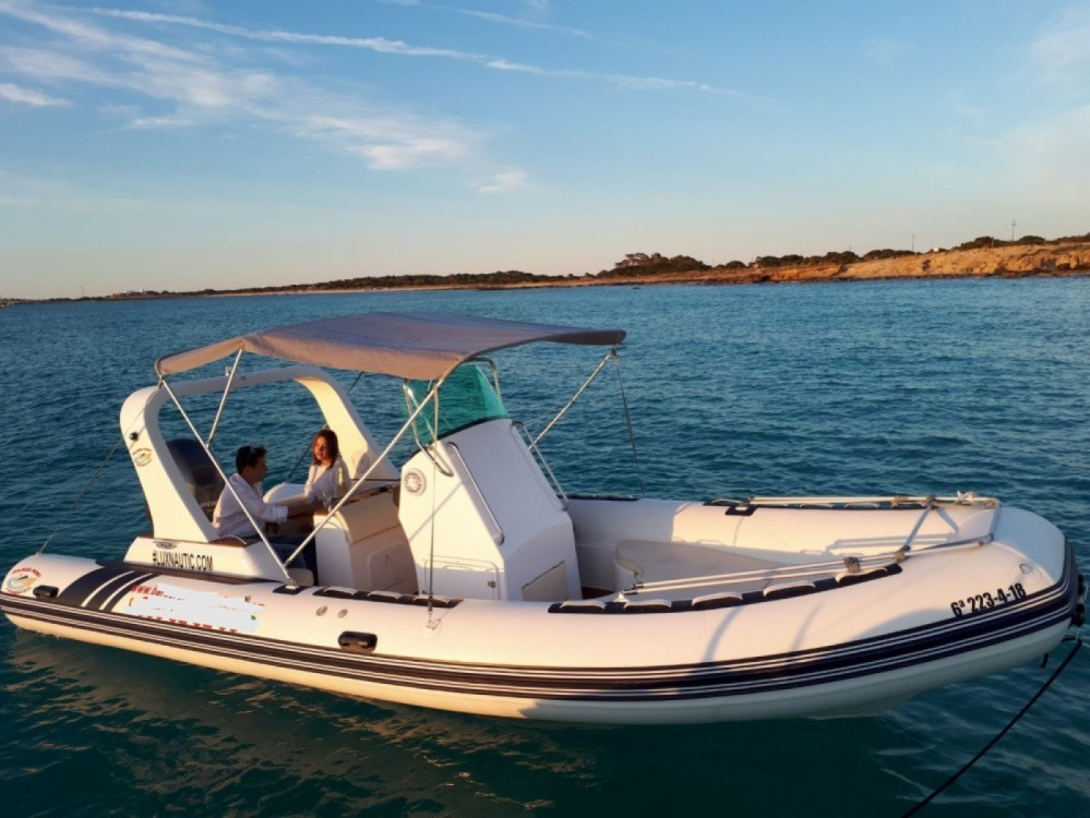 Hire RIB with or without skipper Nautitech Formentera