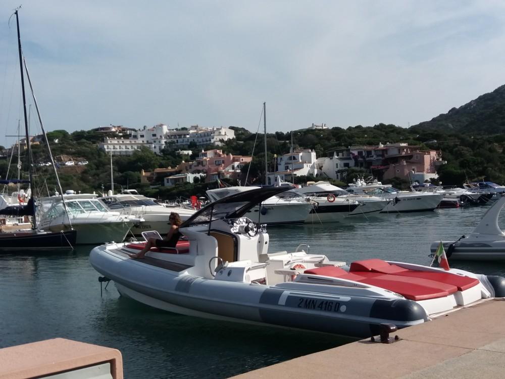 Pirelli P1100 cabin between personal and professional Porto Rotondo