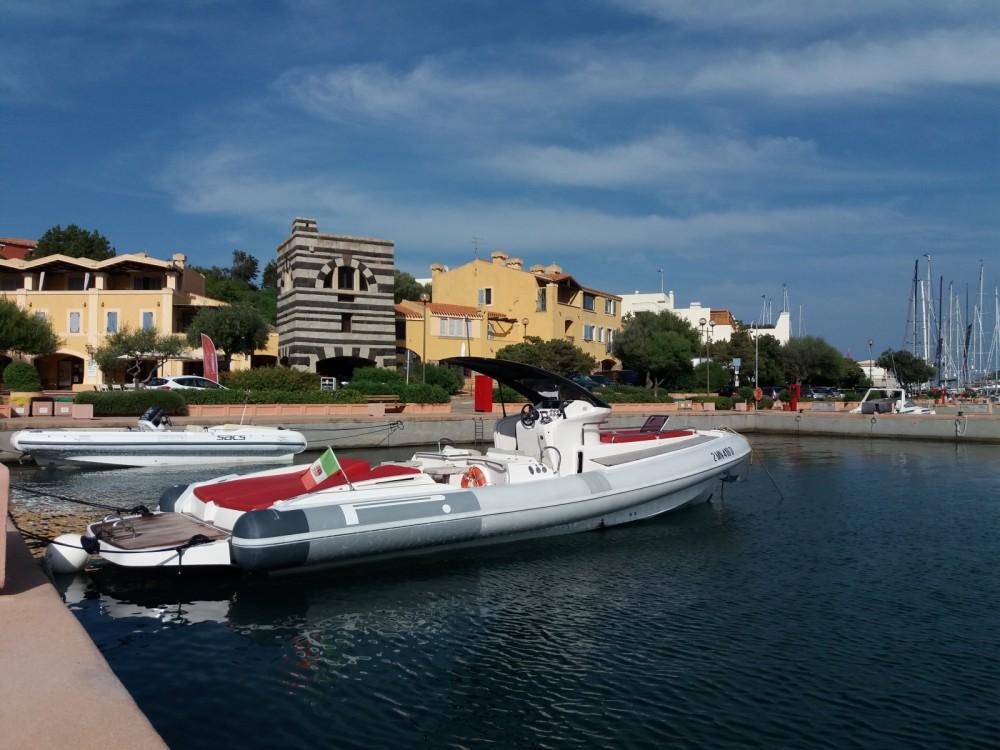 Rental RIB in Porto Rotondo - Pirelli P1100 cabin