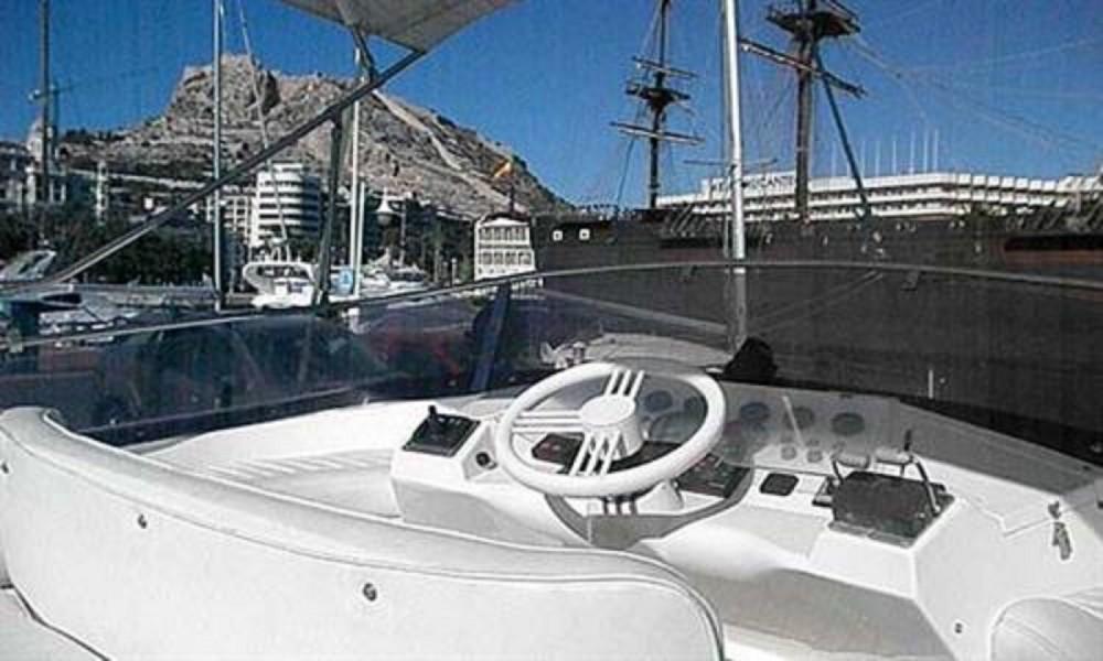 Rental Motorboat Birchwood with a permit