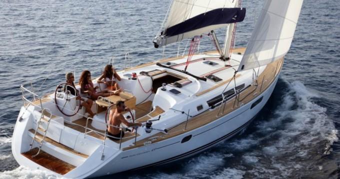 Boat rental Skiathos cheap Sun Odyssey 49i
