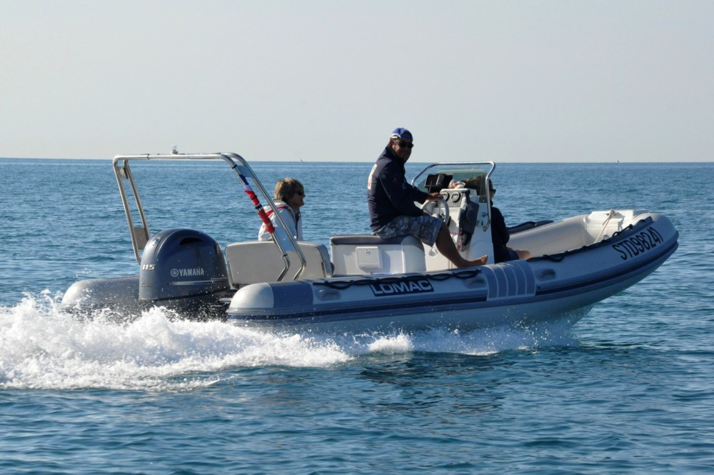Hire RIB with or without skipper Lomac Palavas-les-Flots