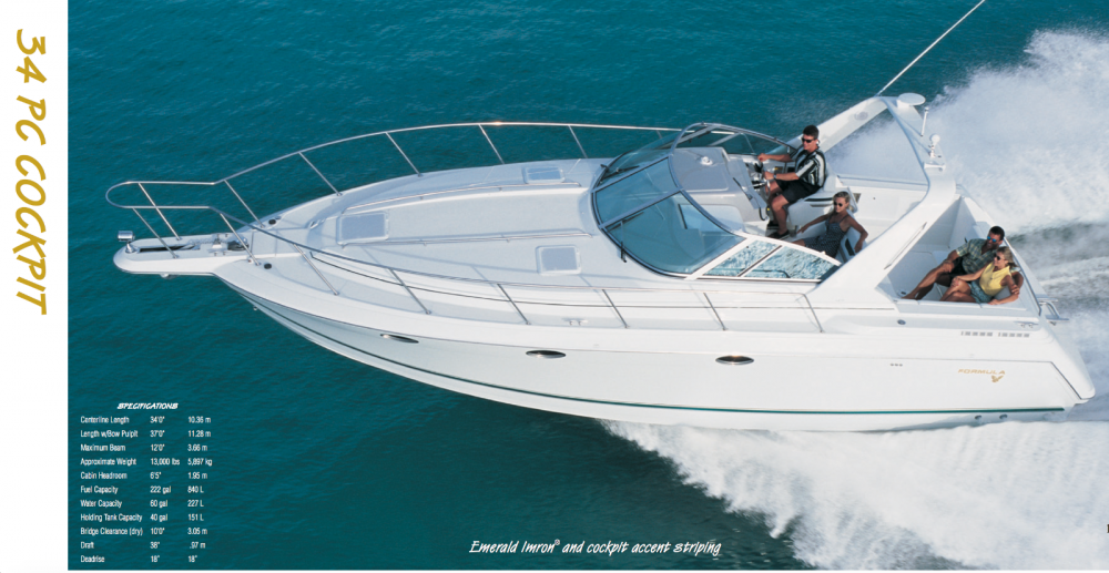 Boat rental Formula 34 PC in Balearic Islands on Samboat