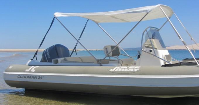 Rental RIB in Lège-Cap-Ferret - Joker Boat Clubman 24