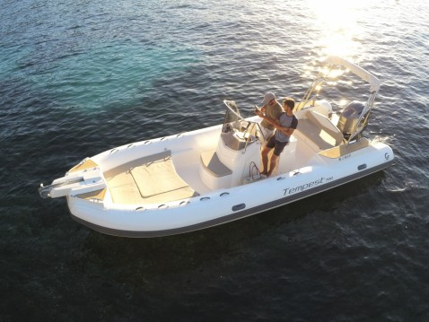 Hire RIB with or without skipper Capelli Beaulieu-sur-Mer