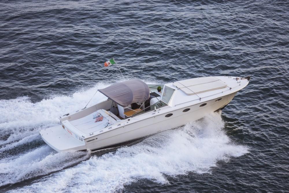 Boat rental Maiori cheap Tornado 38 Flush Deck