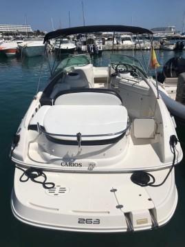 Boat rental Monterey 263 Explorer in Ibiza Island on Samboat