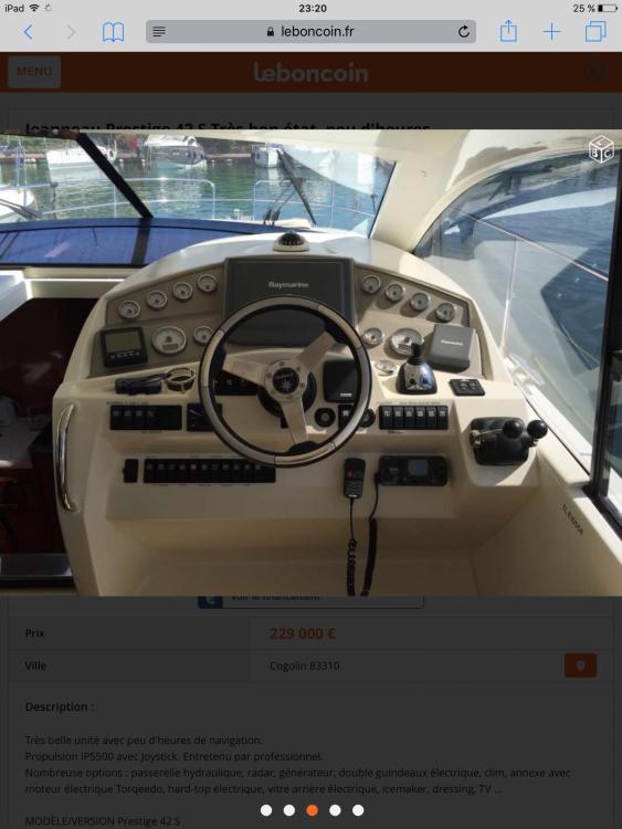 Rental yacht Saint-Laurent-du-Var - Jeanneau Prestige 42s on SamBoat