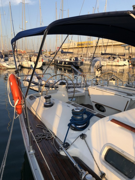 Jeanneau Sun Odyssey 43 between personal and professional Algarve