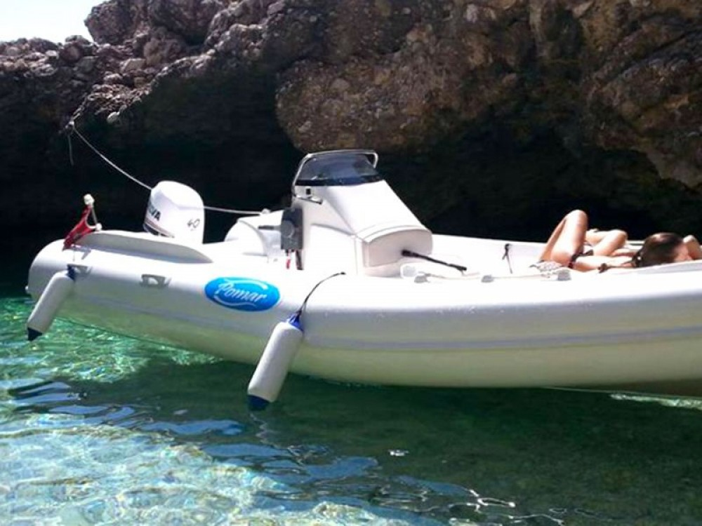 Hire RIB with or without skipper Pomar Trapani