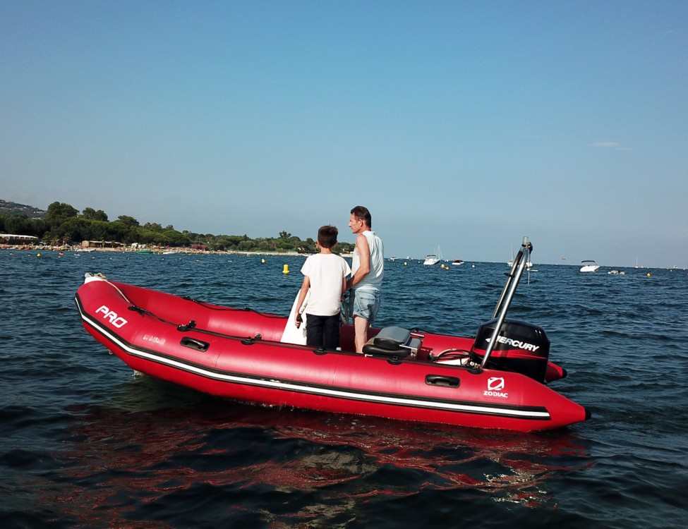 Zodiac Pro 500 between personal and professional Grimaud