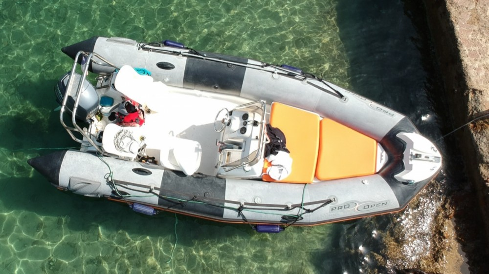 Hire RIB with or without skipper Zodiac Marseille
