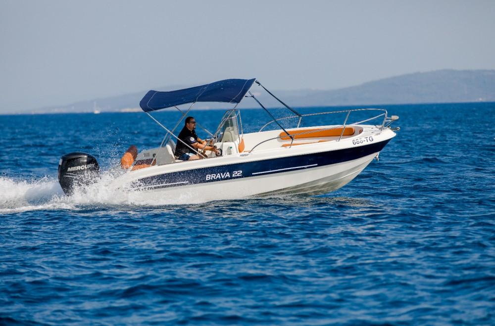 Boat rental Trogir cheap Brava 22