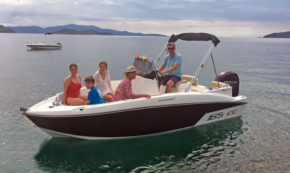 Rental Motorboat in Thessaly and Central Greece - compass Compass 165 CC