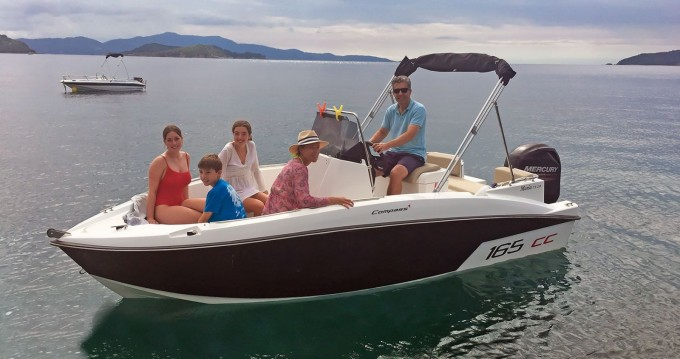 Rental yacht Skiathos - Compass Compass 165 CC on SamBoat