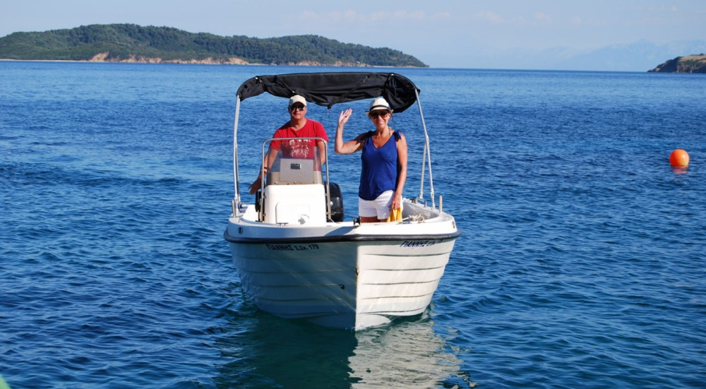 Hire Motorboat with or without skipper Poseidon Thessaly and Central Greece