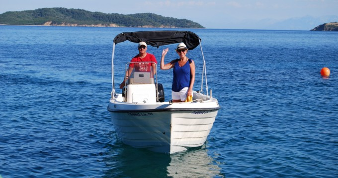 Poseidon Poseidon 510 between personal and professional Skiathos
