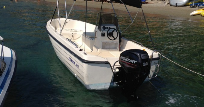 Hire Motorboat with or without skipper Poseidon Skiathos