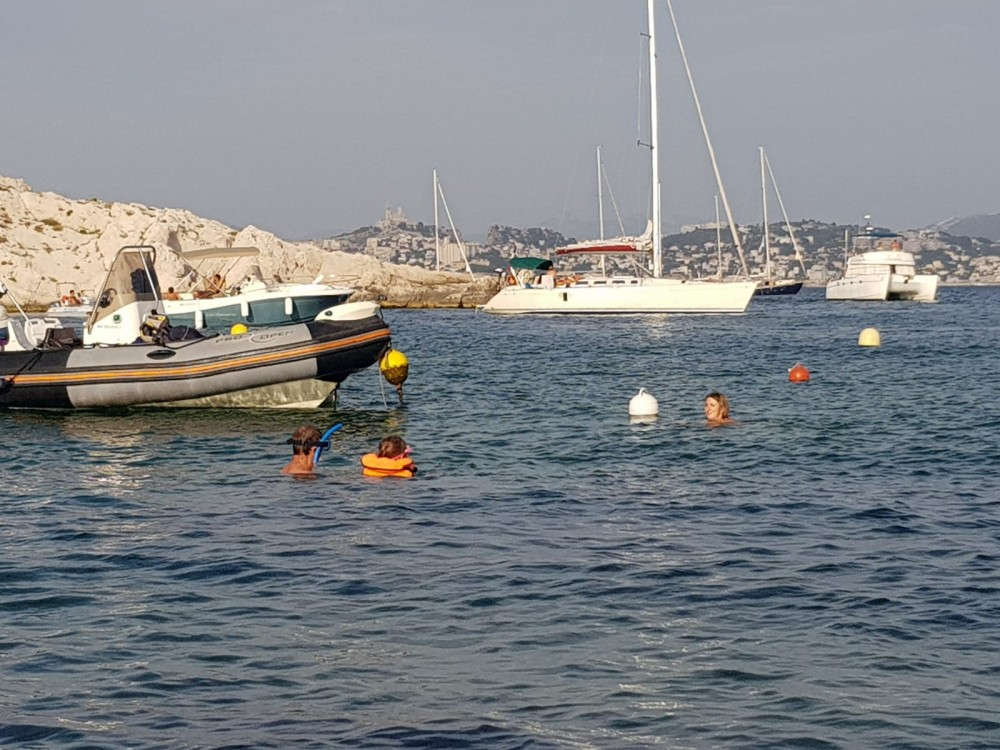 Zodiac Pro Open 550 between personal and professional Marseille