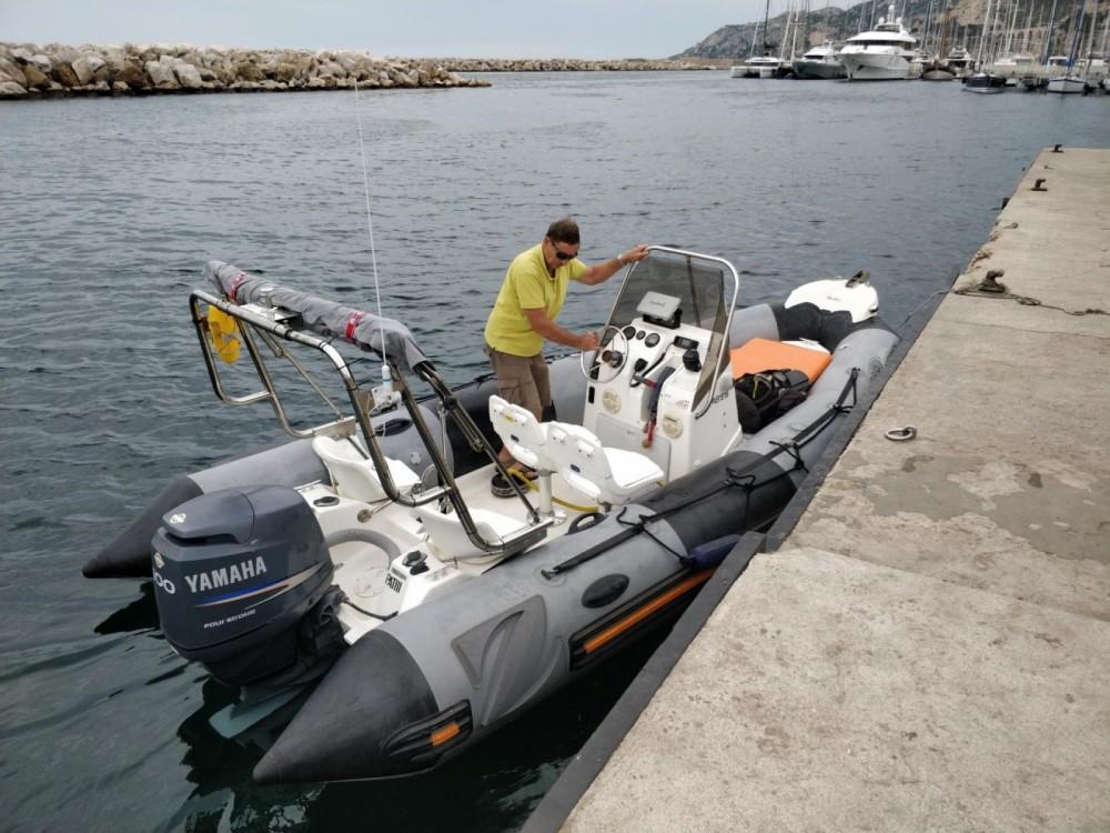 Rental yacht Marseille - Zodiac Pro Open 550 on SamBoat