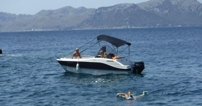 Rent a Quicksilver Activ 455 Open Palma de Mallorca