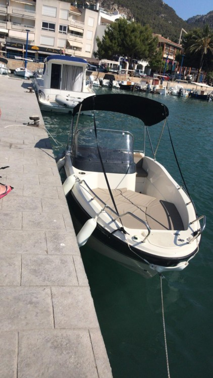 Quicksilver Activ 455 Open between personal and professional Balearic Islands