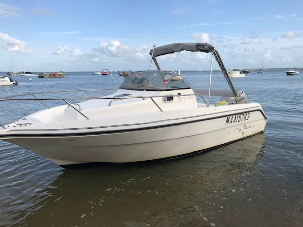 Hire Motorboat with or without skipper Mery Nautic Lège-Cap-Ferret