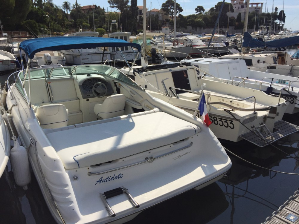 Rental Motorboat in Beaulieu-sur-Mer - Sea Ray vedette