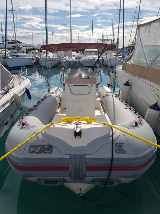 Hire RIB with or without skipper Bwa Saint-Laurent-du-Var