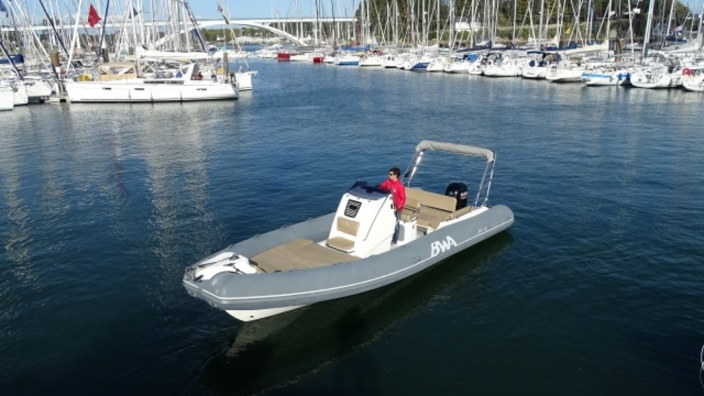 Bwa Sport 26 GTO between personal and professional La Trinité-sur-Mer