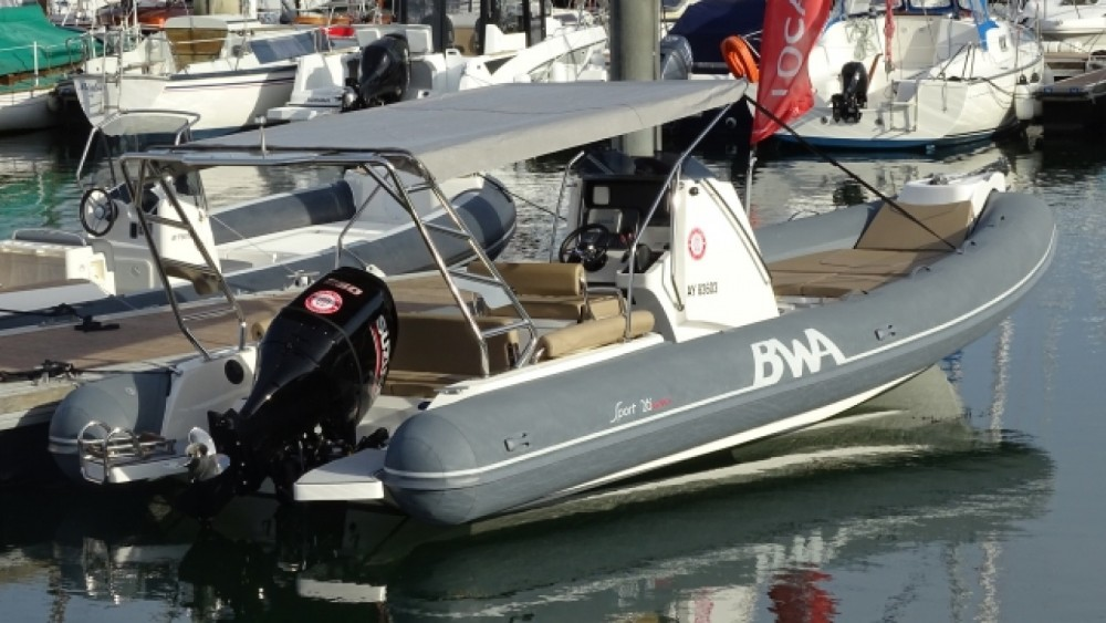 Rental RIB in La Trinité-sur-Mer - Bwa Sport 26 GTO