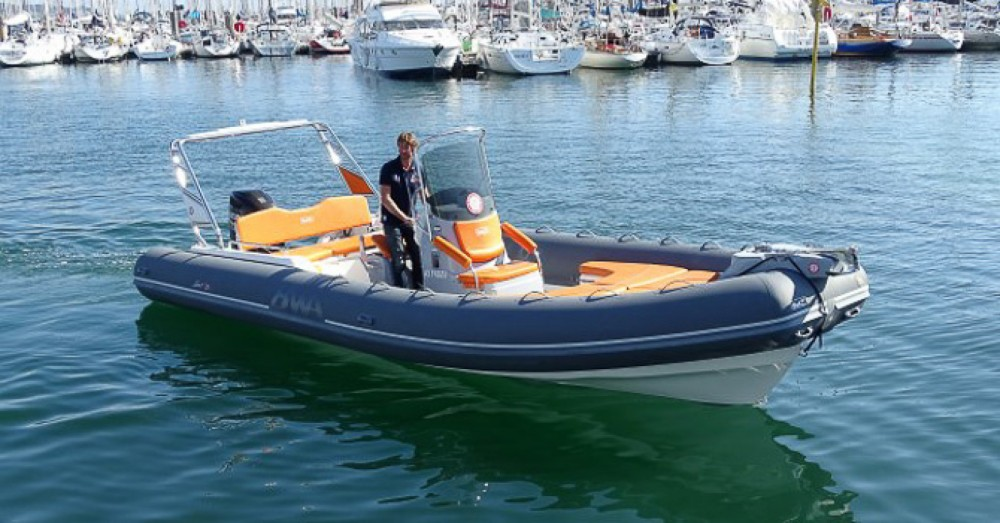 Hire RIB with or without skipper Bwa La Trinité-sur-Mer