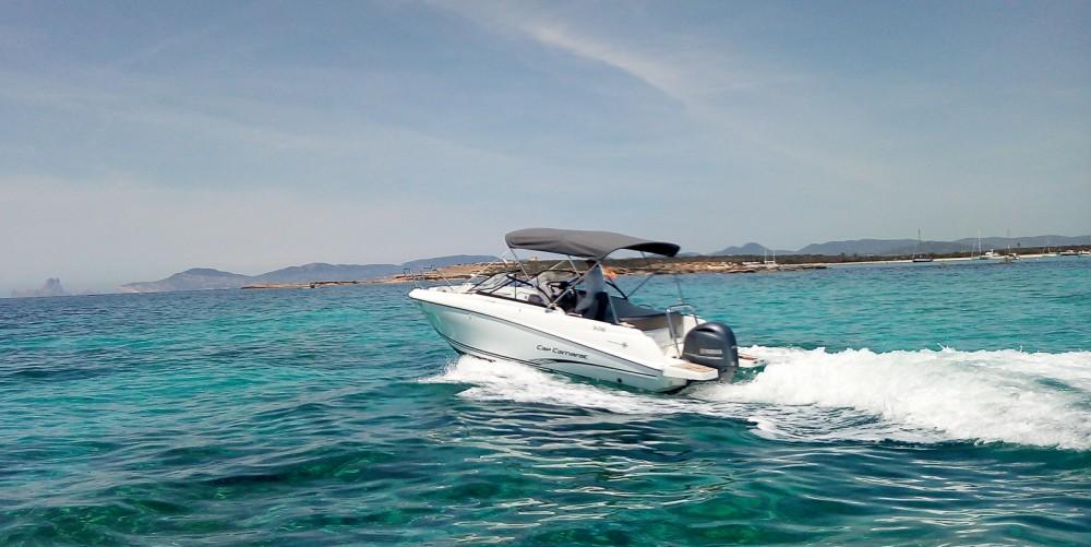 Jeanneau Cap Camarat 6.5 BR between personal and professional Balearic Islands