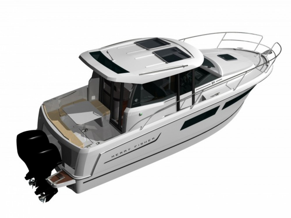 Rental yacht La Trinité-sur-Mer - Jeanneau Merry Fisher 855 on SamBoat