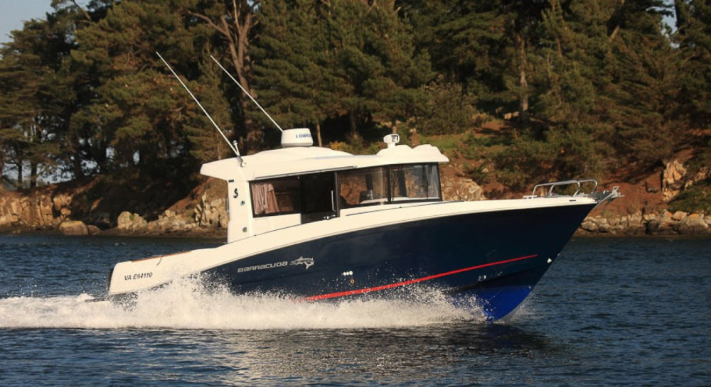 Boat rental La Trinité-sur-Mer cheap Barracuda 9