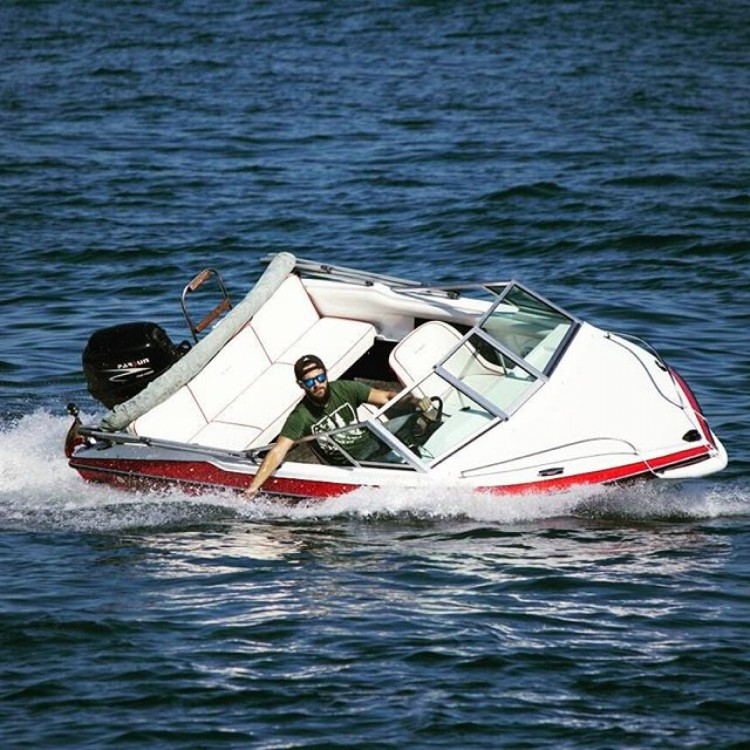 Rental Motorboat in Benalmádena - Glastron La Raya