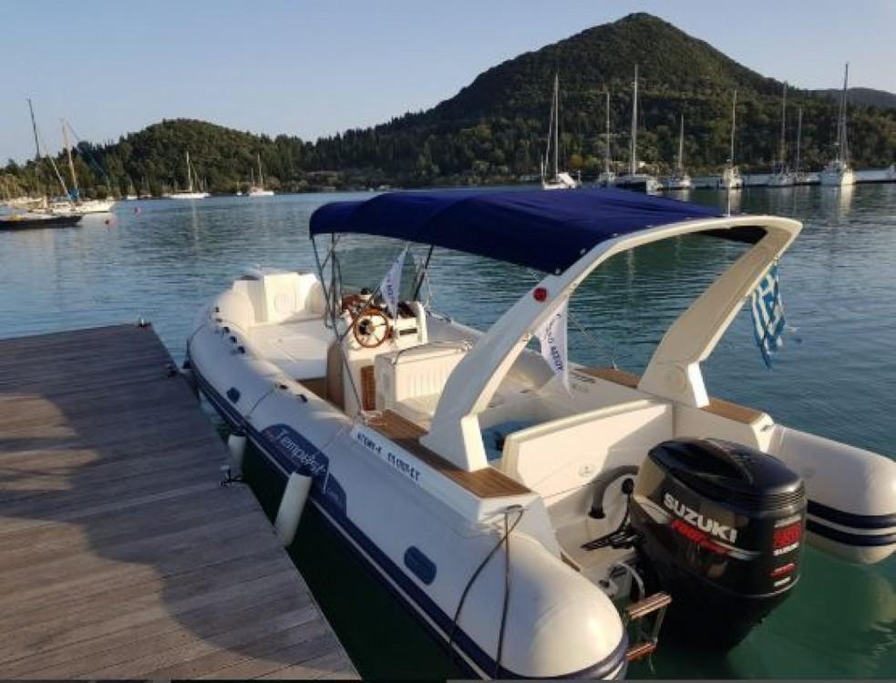 Boat rental Capelli Tempest 770 in Nydri on Samboat