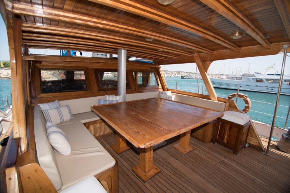 Hire Sailboat with or without skipper Gulet Ibiza
