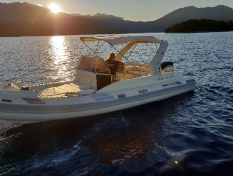 Solemar Offshore 25 between personal and professional Lefkada (Island)