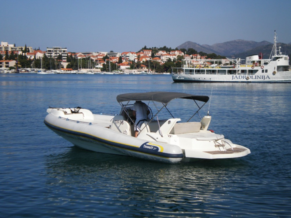 Hire RIB with or without skipper Marlin Boat Dubrovnik