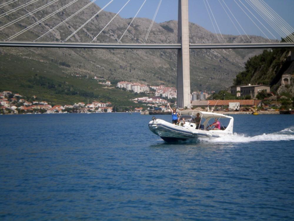 Boat rental Dubrovnik cheap 409 DB