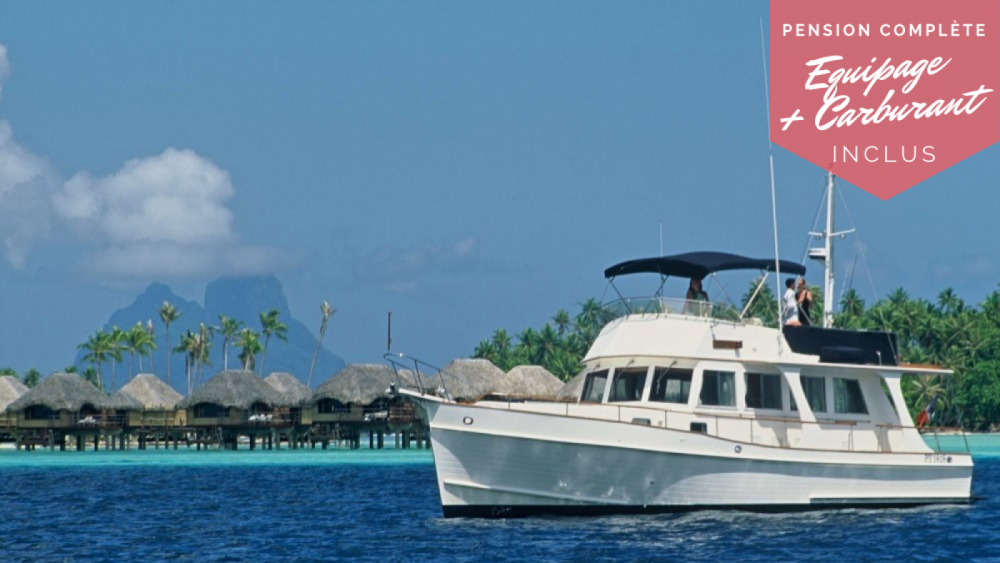 Hire Motorboat with or without skipper Grand Banks