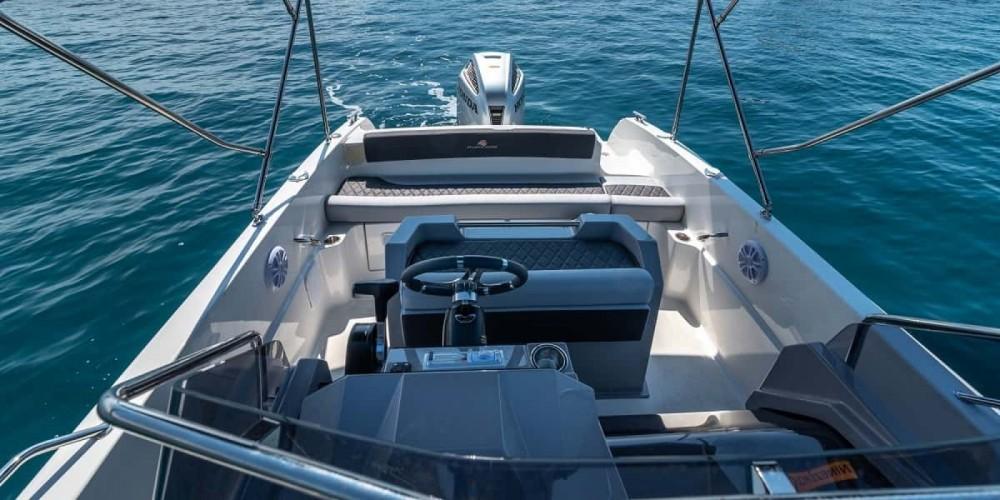 Atlantic open 670 between personal and professional Trogir
