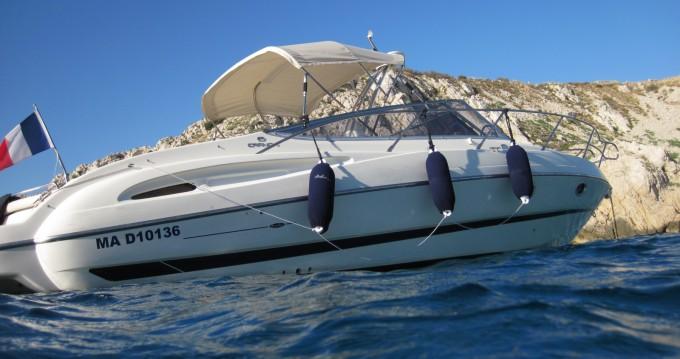 Rental Motorboat in Marseille - Cranchi CSL 28
