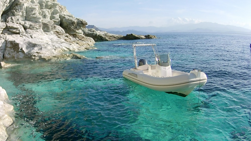 Boat rental Saint-Florent cheap Tempest 626