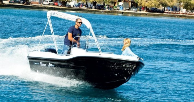 Rental Motorboat Nireus with a permit