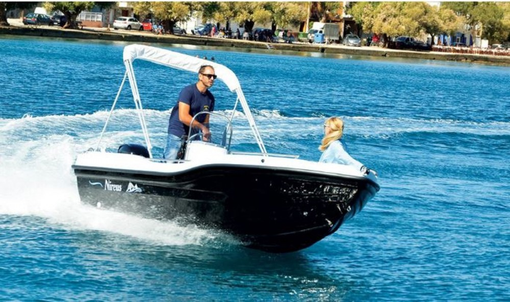 Motorboat for rent Σύβοτα at the best price