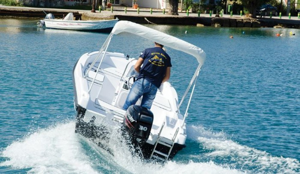 Rental yacht Σύβοτα - nireus 455 on SamBoat