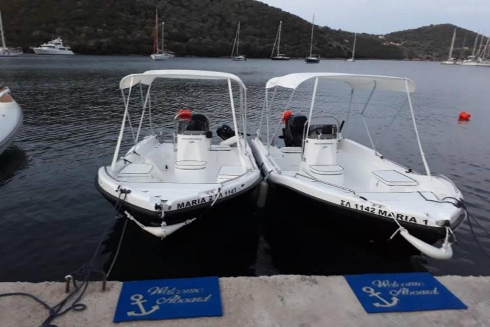 Boat rental Σύβοτα cheap 455